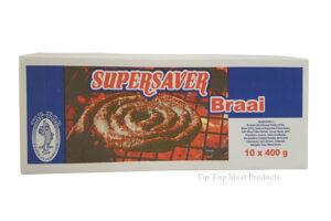 Supersaver Beef Griller 10x400g